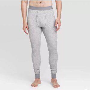 Men's Tall Thermal Pants - Goodfellow & Co™ L